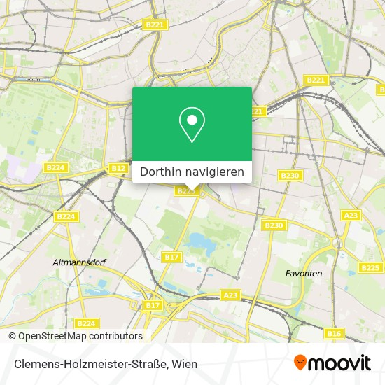 Business-Park Vienna Karte