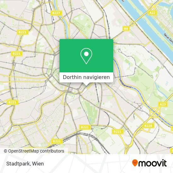 Stadtpark Karte