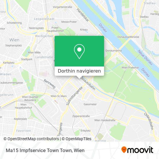 Ma15 Impfservice Und Reisemedizinische Beratung Karte