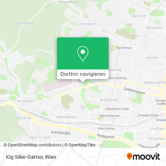 Klg Siller-Gärten Karte