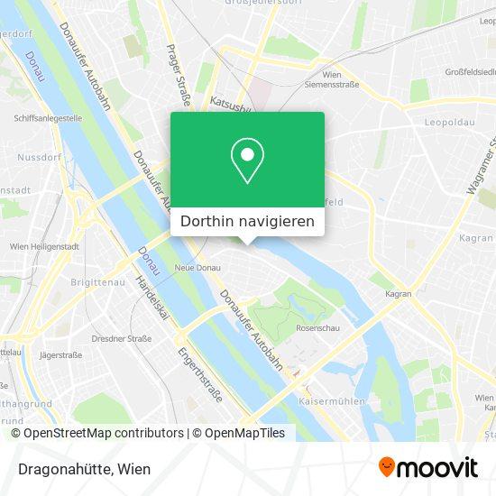 Dragonahütte Karte