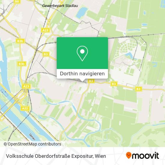 Volksschule Oberdorfstraße Expositur Karte