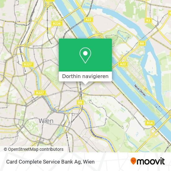 Card Complete Service Bank Ag Karte