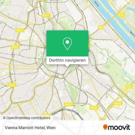 Vienna Marriott Hotel Karte