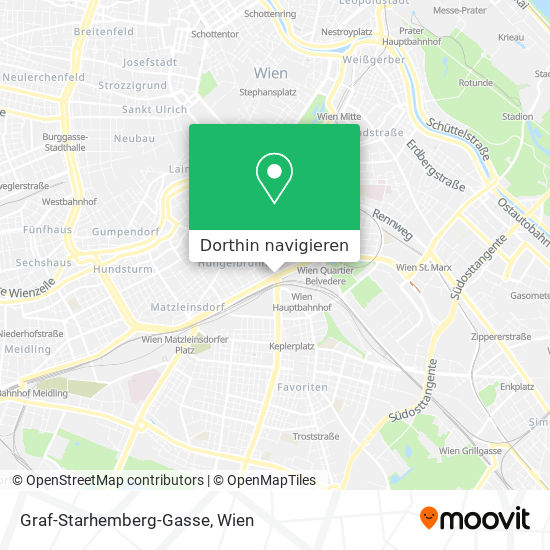 Graf-Starhemberg-Gasse Karte