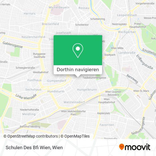 Bfi - Hak/Has Wien 5 Karte