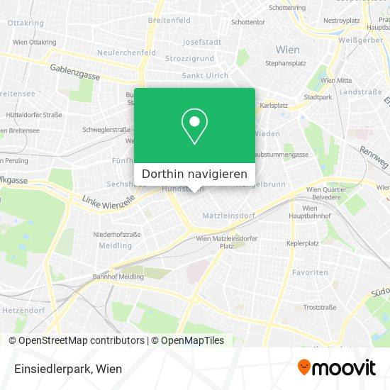 Einsiedlerpark Karte