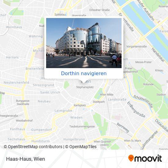 Haas-Haus Karte