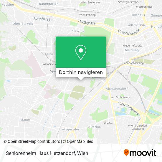 Seniorenheim Haus Hetzendorf Karte