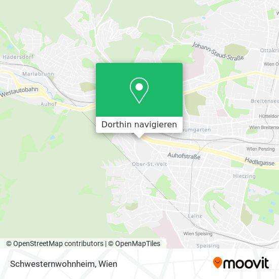 Schwesternwohnheim Karte