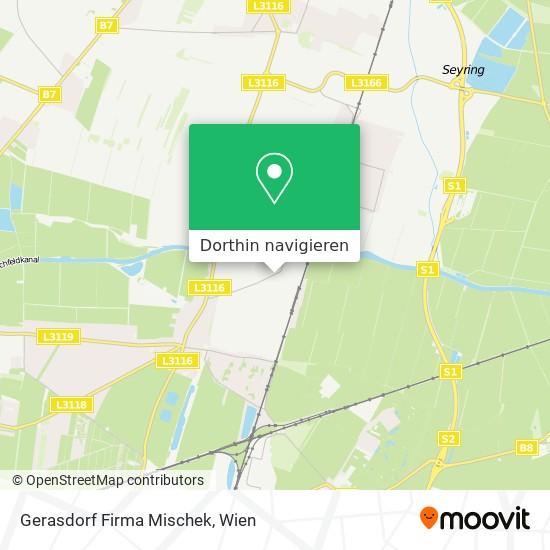 Gerasdorf Firma Mischek Karte