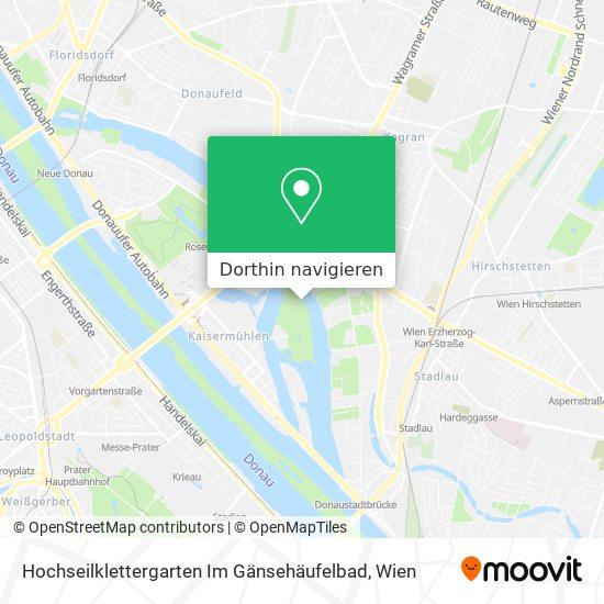 Hochseilklettergarten Im Gänsehäufelbad Karte