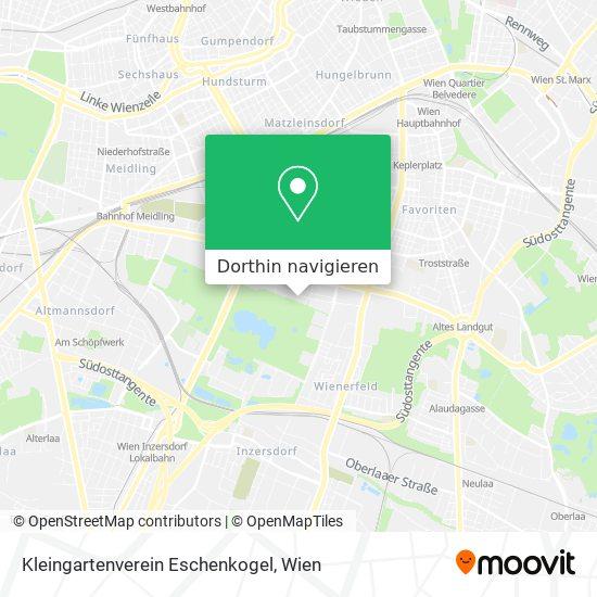 Kleingartenverein Eschenkogel Karte