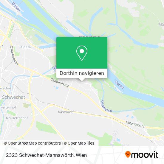 2323 Schwechat-Mannswörth Karte