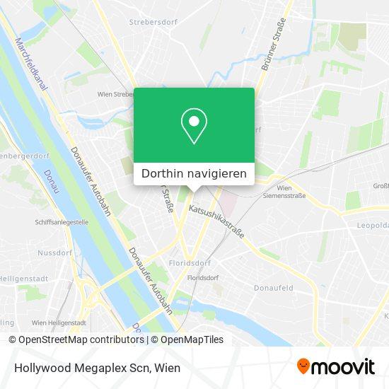 Hollywood Megaplex Scn Karte
