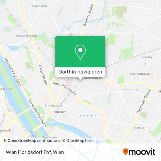 Wien Floridsdorf Fbf Karte
