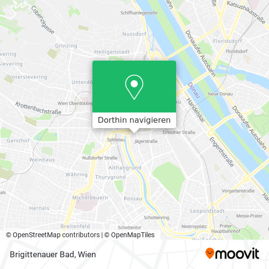 Brigittenauer Bad Karte