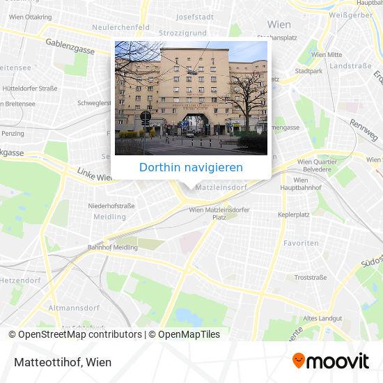 Matteottihof Karte