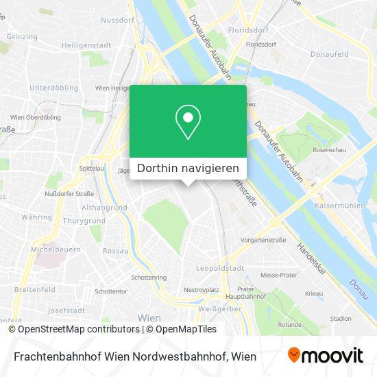 Frachtenbahnhof Wien Nordwestbahnhof Karte