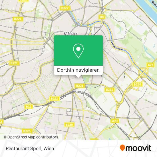 Restaurant Sperl Karte