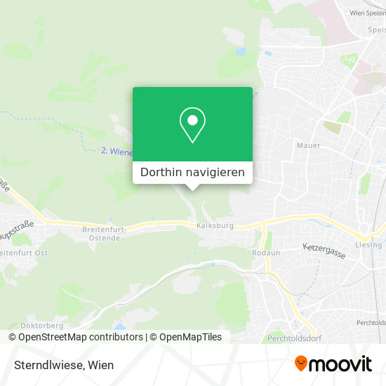 Sterndlwiese Karte