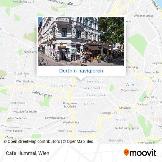 Cafe Hummel Karte