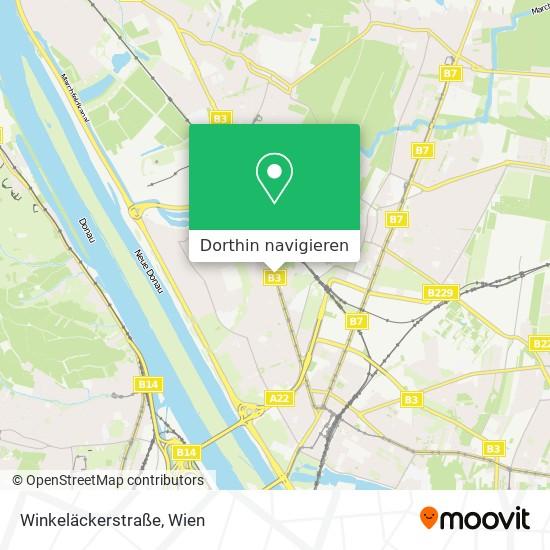 Winkeläckerstraße Karte