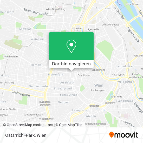 Ostarrichi-Park Karte