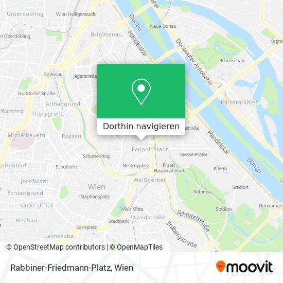 Rabbiner-Friedmann-Platz Karte