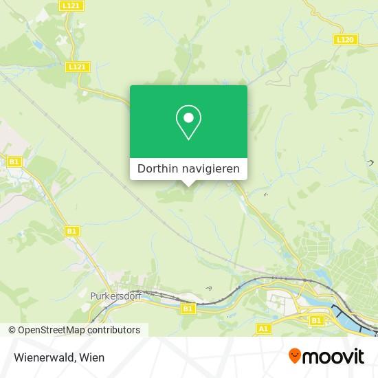 Wienerwald Karte