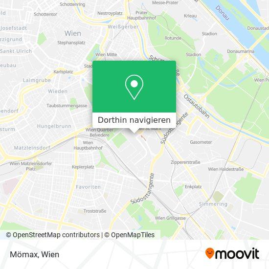 Mömax Karte