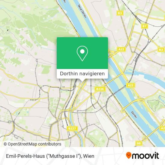 "Emil-Perels-Haus (""Muthgasse I"") Karte"