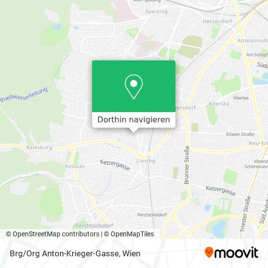 Brg/Org Anton-Krieger-Gasse Karte