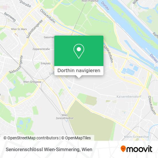 Seniorenschlössl Wien-Simmering Karte