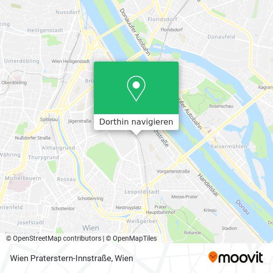 Wien Praterstern-Innstraße Karte
