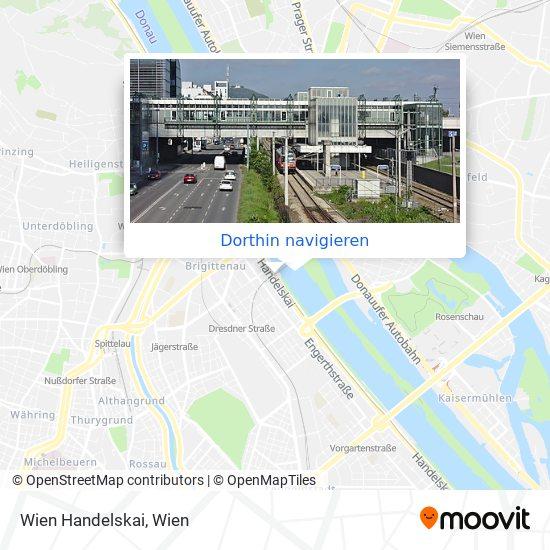 Wien Handelskai Karte