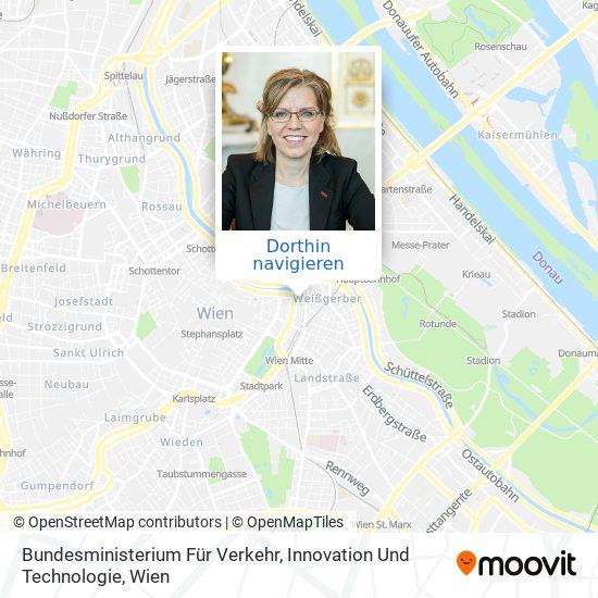 Bundesministerium Für Verkehr, Innovation Und Technologie Karte