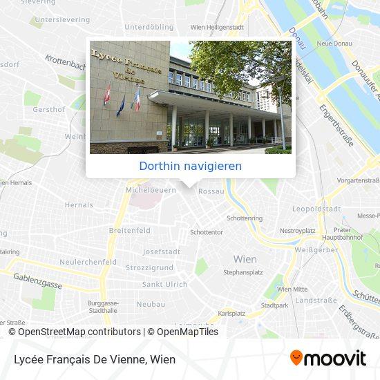 Lycée Français De Vienne Karte