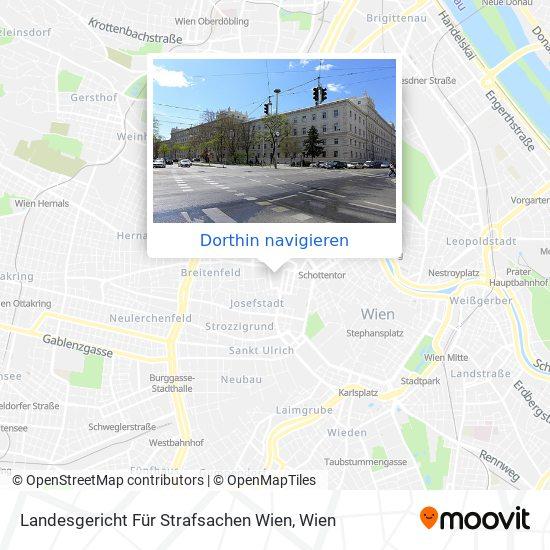 Landesgericht Für Strafsachen Wien Karte