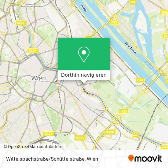 Wittelsbachstraße / Schüttelstraße Karte