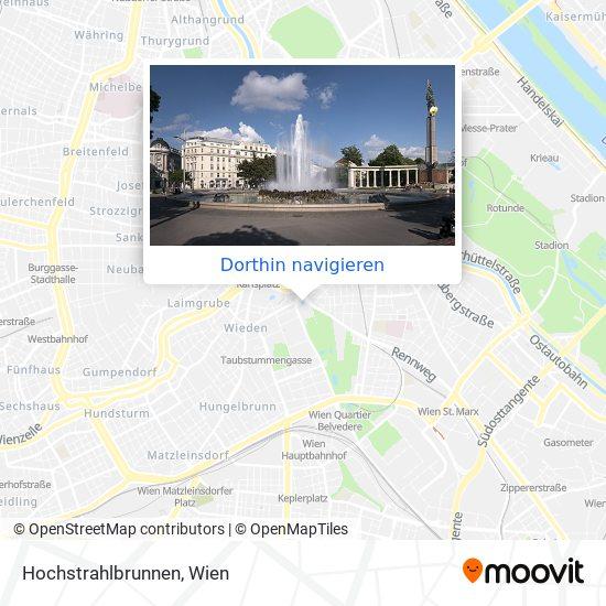 Hochstrahlbrunnen Karte