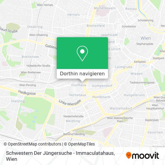 Schwestern Der Jüngersuche - Immaculatahaus Karte