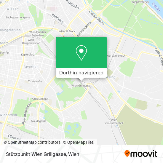 Stützpunkt Wien Grillgasse Karte
