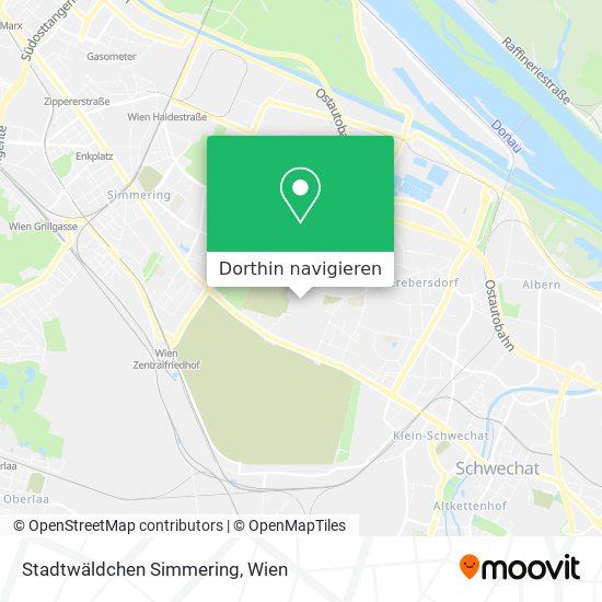 Stadtwäldchen Simmering Karte