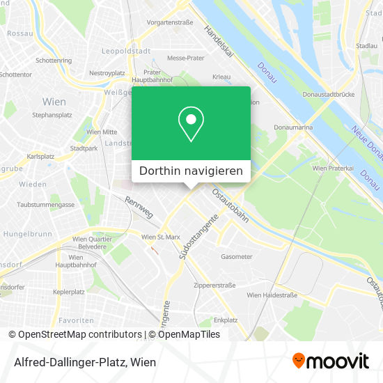 Alfred-Dallinger-Platz Karte