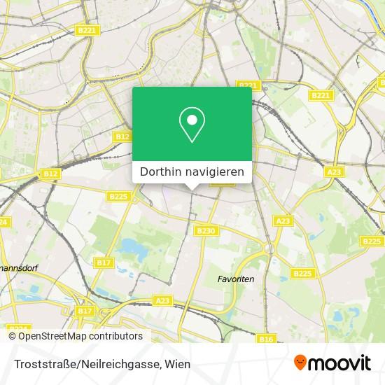 Troststraße/Neilreichgasse Karte