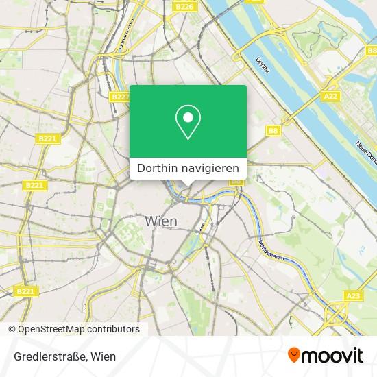 Gredlerstraße Karte