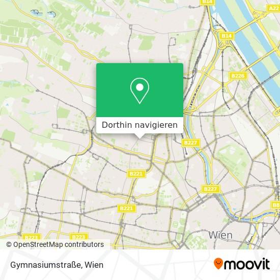 Gymnasiumstraße Karte