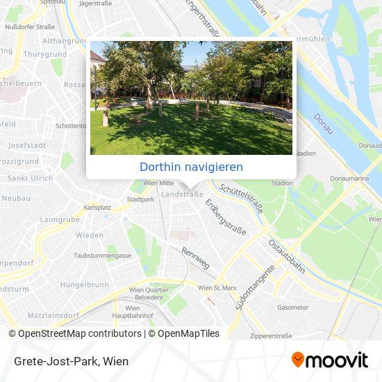 Grete-Jost-Park Karte