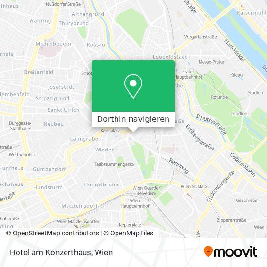 Hotel Am Konzerthaus Karte